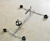 Ramps & Cushions   The Hottest Stainless Steel Adult BDSM Sex Product Bondage frame dog slaves devices bound toys BDSM ( handcuffs shackles + ankle cuffs + col