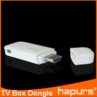 Wholesale Hapurs P HD dlan wifi HDMI Wireless airplay mirroring miracast tv dongle for ios android windows MAC OS new gadgets