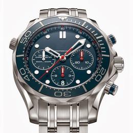 Hot sale high quality luxury watch Men's watch, quartz stopwatch stainless steel watch wrist watch OM23