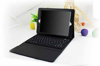 Hot Sell !!! Leather wireless Bluetooth Keyboard case for iP...