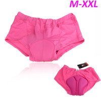 Wholesale 2016 New Women Cycling Underwear Gel D Padded Shorts Bike Bicycle Rose Size M L XL XXL H10627
