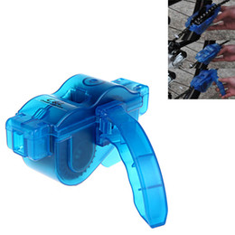 Wholesale Mountain Bike Chain Cleaner Bicycle Parts Flywheel Brush Scrubber Cycling Wash Tool Kits DHL H10286