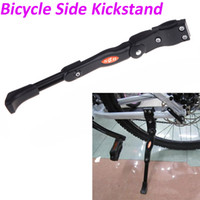 aluminum touring bike - Aluminum Adjustable Mountain Bike Bicycle Side Kickstand Kick Stand Kit Universal Black H10572