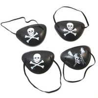 Wholesale Details about The Pirates Kids Children Eye Patch Eyepatch Mask Halloween Costume Prop Party N670