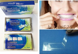Wholesale set Potent quick yellow teeth whitening teeth whitening teeth whitening whitening strips patches installed