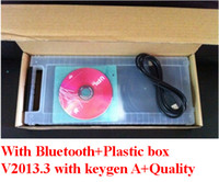 Code Reader For BMW DS150 Delphi DS150 with Bluetooth DELPHI DS150E + Plastic box 2013.3 Latest Version
