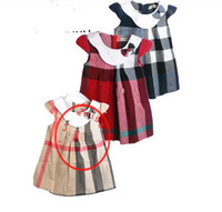 TuTu Summer Ball Gown 2014 spring summer new Baby, Kids Clothing Children's girl's vest cotton Plaid tutu dress skirts 6colors for2-7T A231