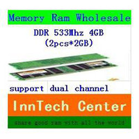 Wholesale DDR2 G Mhz PC2 Brand New memoria ram SODIMM Memory Ram For Notebook GB Ram Kit GB