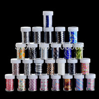 Wholesale Pick Color Newest cm rolls designs fashionable nail art tools Transfer foil sticker supplies