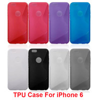 Hot Sale S Line TPU Silicone Rubber Clear Skin Protector Cas...