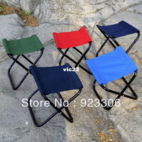 new 01 Yes Free Shipping Horse outdoor small mazha fishing chair beach chair outdoor portable bench Wholesale 50pcs lot X76