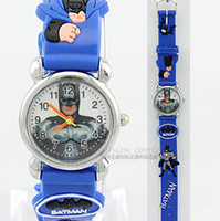 Wholesale Promotion Batman D Cartoon Watch Toy Gift kid Watch Children watches Student Watch Best Gift for Birthday Party