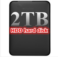 Wholesale new high speed mobile hard disk TB HDD USB2 external hard drive free worldwide shipping