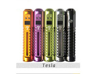 lavatube - 2014 New Arrival Electronic Cigarette Tesla Mod Advanced Lavatube which Adjust Voltage Precisely E Cigarette ego kits Factory price