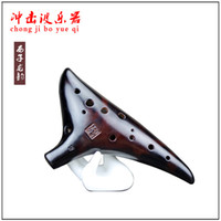 Wholesale MASTERPIECE PROFESSIONAL MUSICAL INSTRUMENT Long Yun tenor C ocarina hole professional retro Ocarina tune C OCARINA FLUTE
