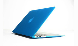 Wholesale Cheapest Matte Hard Rubberized Case flip Laptop protect Cover Case for apple Macbook Air Pro with Retina inch
