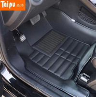 Wholesale High quality for Journey seats seats car floor mats waterproof non slip car mats JCUV seats carpets