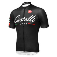 Wholesale Supply castelli outdoor sports jersey Men s Summer Cycling Jacket Short Sleeve Bicycle Racing Jersey Only