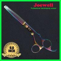 Right Hand joewell scissors - Joewell Scissors High quality C Steel Inch Hair Scissors With Free Scissor Case