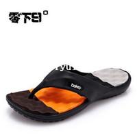 Wholesale Hot Sale New Summer EVA Shoes Fashion Flip Flops Men Sandals Male Flat Massage Beach Slippers Black White Plus Size