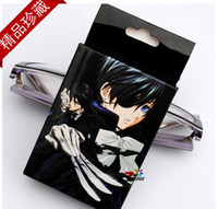 Carbon-Shaft Advanced Yes Game League of Legends Black Butler Poker 54 pcs pack Playing Cards Cosplay Toy Birthday Christmas Gift,With Retail Box EYY-02