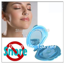 Wholesale Sleeping Aids Stop Anti Snore Snoring Stopper Nose Clip Sleep Device