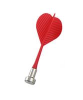 Wholesale Bullseye Target Game Plastic Wing Magnetic Darts Red Set of