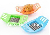 French Fry Cutters Metal ECO Friendly Free shipping DIY chips maker concise potato bar cutting tool potato slicer as vegetable fruit tool kitchen product.