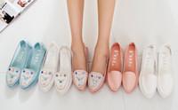 Wholesale Summer Sandals Non slip flat shoes Mesh shoes Rhinestone Shoes Sweet women shoes Size US5 US9