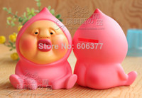 Wholesale Kobito Dukan Fairy Peach Piggy Bank