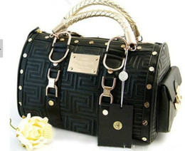 Wholesale Cheap Women Bag Fashion - Free shipping fashion bag high quality handbags famous designers brand women handbag cheap Black and White