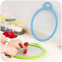 Wholesale Korean version of the thicker glass home home kitchen cutting board chopping green placemats potholder C1519