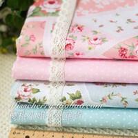 Wholesale 50x50cm designer fabric for patchwork cotton fabric sewing handmade woven scrapbooking cloth tecidos tissue zakka