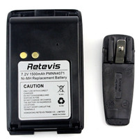 battery belt clip - 10pcs mAh Ni MH Battery Belt Clip For Motorola Radios Mag One BPR40 A8 PMNN4071 PMNN4071AR C9013A