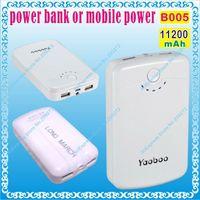 Wholesale B005 mAH V A V A power bank or mobile power for tablet pc GPS mp3 mp4 for onda v973 V972 V818 ainol novo7
