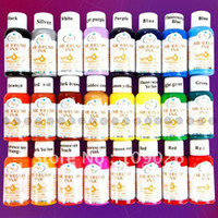 Wholesale Colours ml Nail Art Airbrush Paint Ink For Tip Airbrush Painting Design