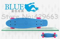 56cm * 15cm    1pc 2014 Newest Designs 22 inch Penny Skateboard for Penny Nickel Penny Cruiser Plastic Skateboard Penny Board