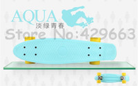 56cm * 15cm   6pcs lot 2014 Newest Designs 22 inch Penny Skateboard for Penny Nickel Penny Cruiser Plastic Skateboard Penny Board