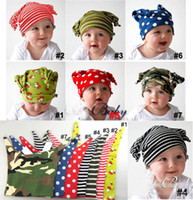 Unisex baby elf hat - European and American Hot TOPBOY little baby elf hat pattern stylaing stripes children cap a613
