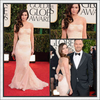 Reference Images Strapless Lace 2013 the 70th golden globe awards Megan Fox strapless mermaid lace celebrity dresses