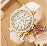 Wholesale Fashion Diamond Students Quartz Watch Fashionable Silicone Women s Watch Couples Watch ZXLfs006