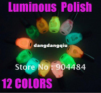 Wholesale Excellent Product Nail Art Varnish Luminous Polish Glow Glitter in the dark Paint Lacquer For Beauty Nails Fashion Desgin
