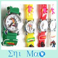 Wholesale transformer D Cartoon watch Kids children Watch Silicone band buy s Watches Wristwatches best gift for child