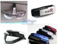 Sunglasses car sunglasses clip - 1pcs New Smart Car Vehicle Sun Visor Sunglasses Eyeglasses Holder Clip Durable C0062