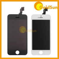 For Apple iPhone 5C LCD Screen Panels  20pc lot Complete LCD Screen Display Digitizer Assembly Replacement for iPhone 5C iPhone5C 5S Touch Screen with Frame 100% Test DHL
