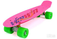 Wholesale New Arrival HOT Sale Cheapest quot Pink PENNY SKATEBOARD COMPLETE LONGBOARD SKATEBOARD MINI Skateboard Penny Board
