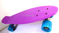 Wholesale quot Penny Skateboards Purple Decks Light Blue Wheels Penny board Skateboard Penny board Penny nickel skateboard Penny nickel