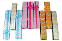 Wholesale x4 x3 cm Mixed Fashion Paper Jewellery Necklace Bracelet Gift Packaging Display Box Case