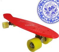 Wholesale Cheapest inch Penny Board Skateboard Complete Longboard Penny Cruiser Board Penny Nickel Penny Board Skateboard