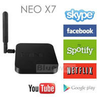 Wholesale MINIX NEO X7 X7 Mini Android Smart TV Box RK3188 Quad Core XBMC Media Player GB DDR3 RAM GB Mini PC GHz P